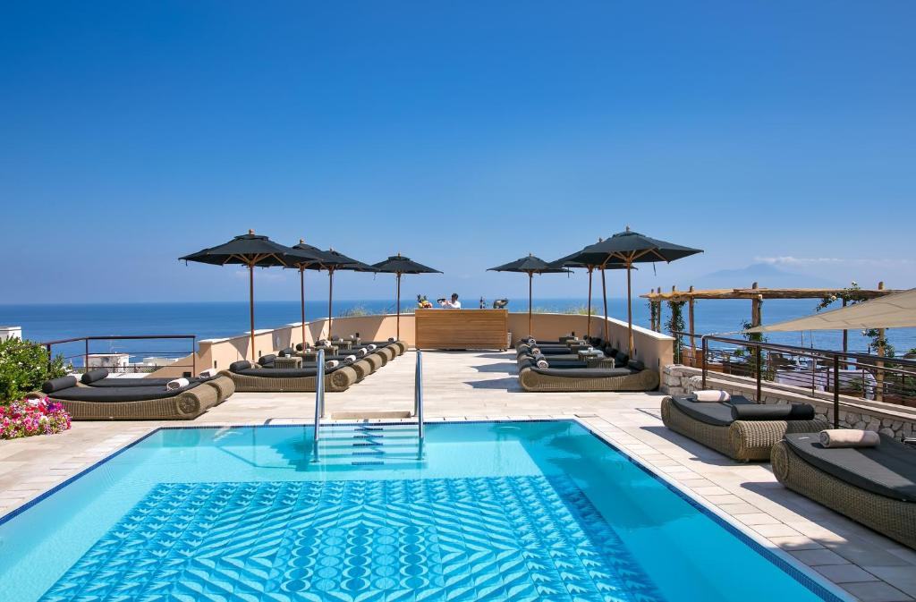 The swimming pool at or near Villa Marina Capri Hotel & Spa