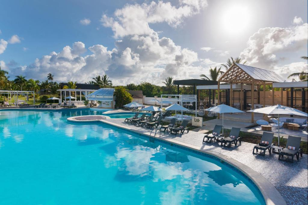 The swimming pool at or near Catalonia Royal Bavaro - All Inclusive - Adults Only