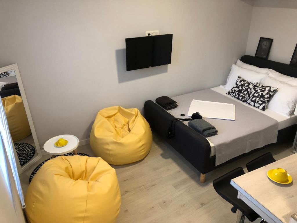 Picture of: Studio Apartment Art Gallery 2 Tivat Montenegro Booking Com