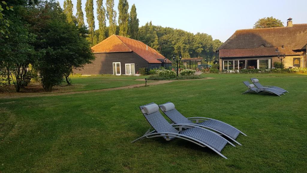 Een tuin van Schaluinenhoeve