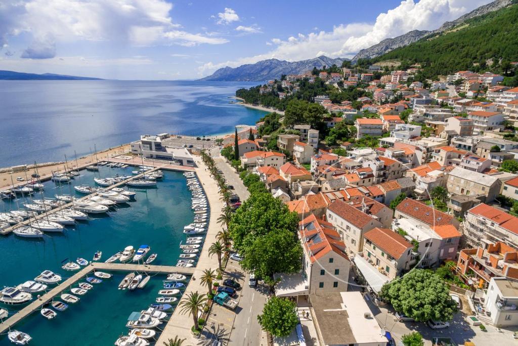 Letecký snímek ubytování Hotel Croatia
