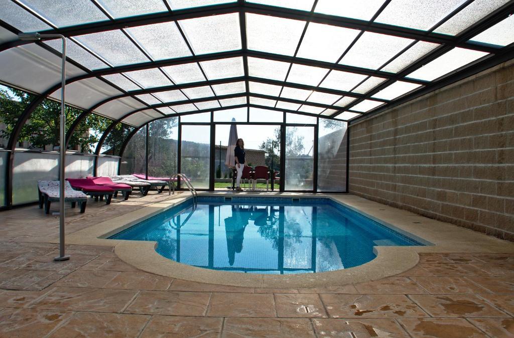 The swimming pool at or near casa oliva la bodegueta