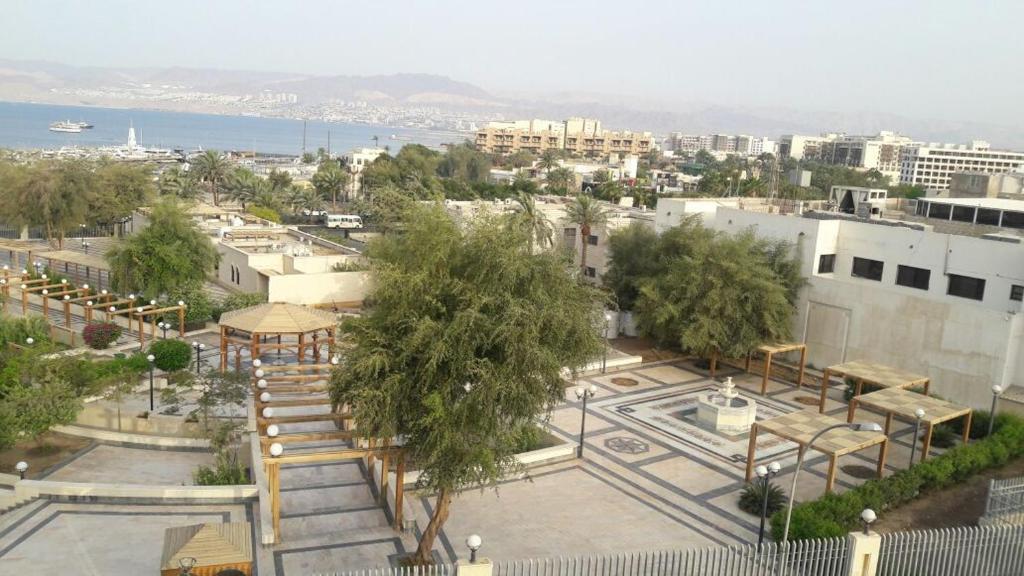 A bird's-eye view of Al Shula Hotel