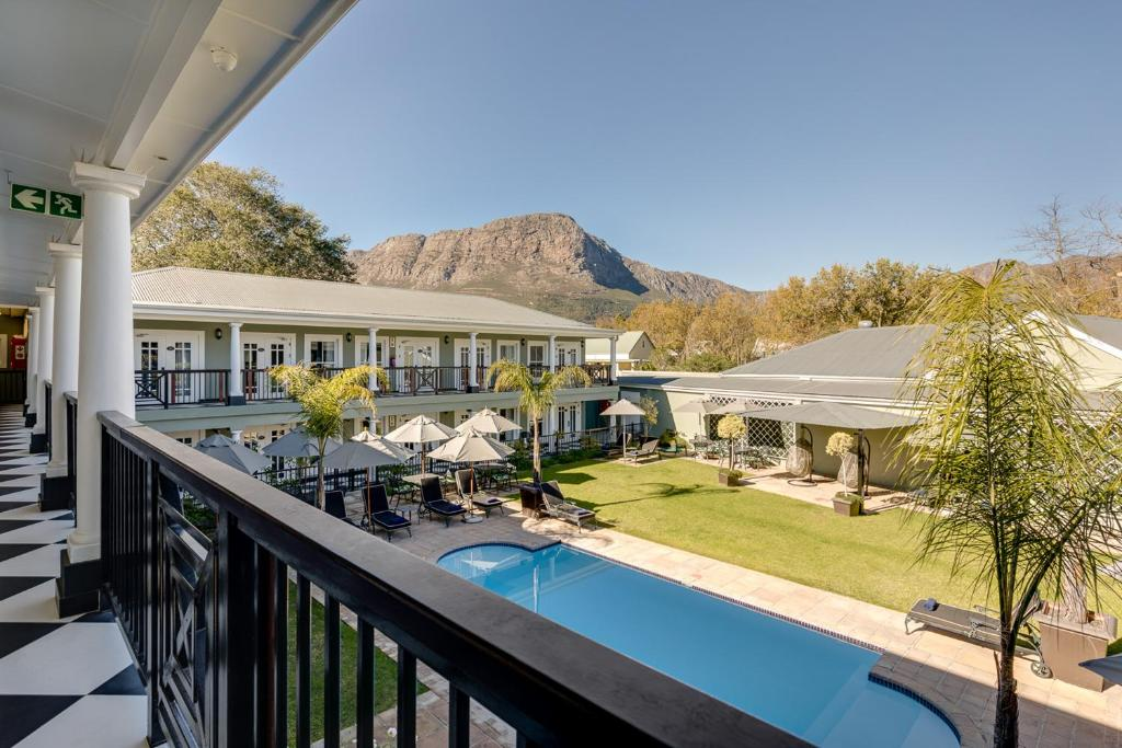 A view of the pool at Protea Hotel by Marriott Franschhoek or nearby