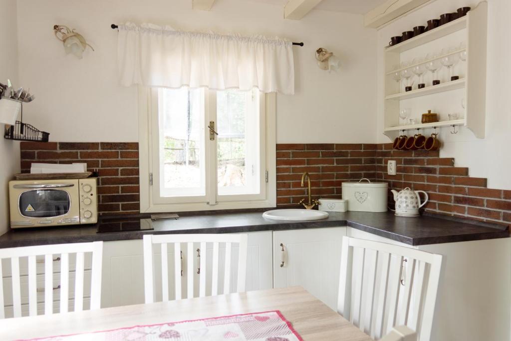 A kitchen or kitchenette at Chata Monika