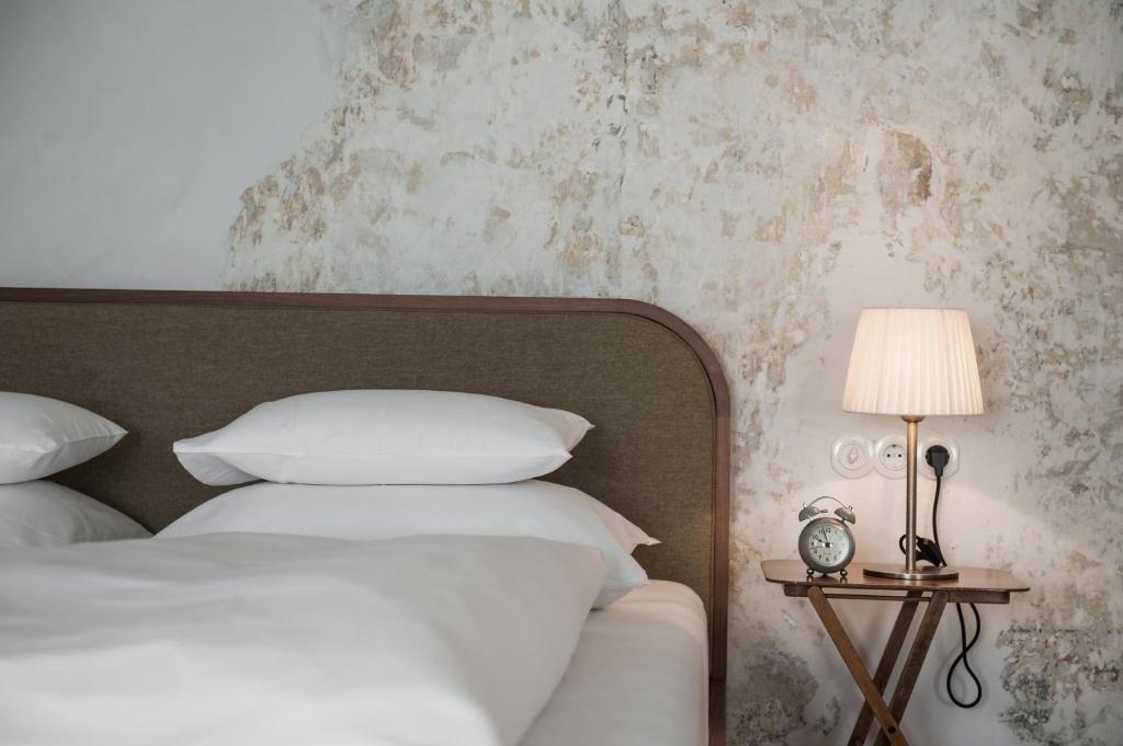 Un ou plusieurs lits dans un hébergement de l'établissement 1477 Reichhalter