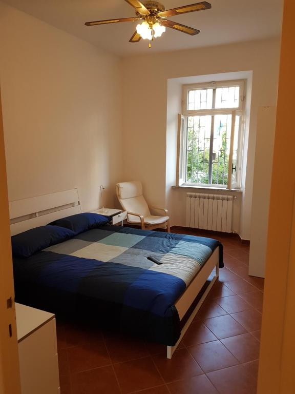 A bed or beds in a room at BeB Antium