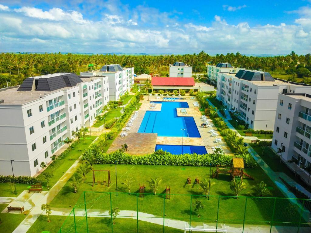 Uma vista da piscina em Palm Village Acqua ou nos arredores