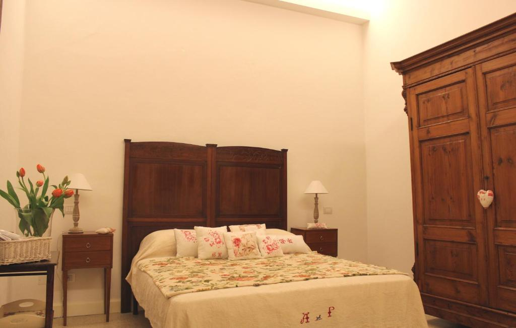A bed or beds in a room at Mareé