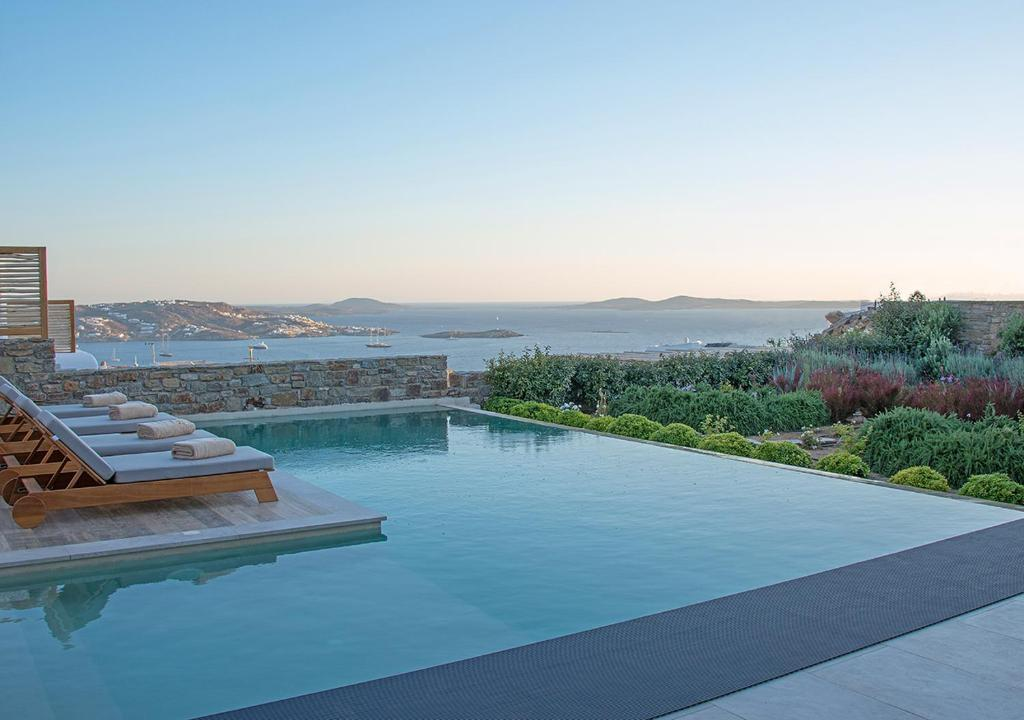 The swimming pool at or close to M - Mykonos Villas