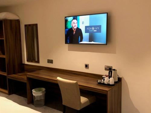 A television and/or entertainment center at Rivington Lodge