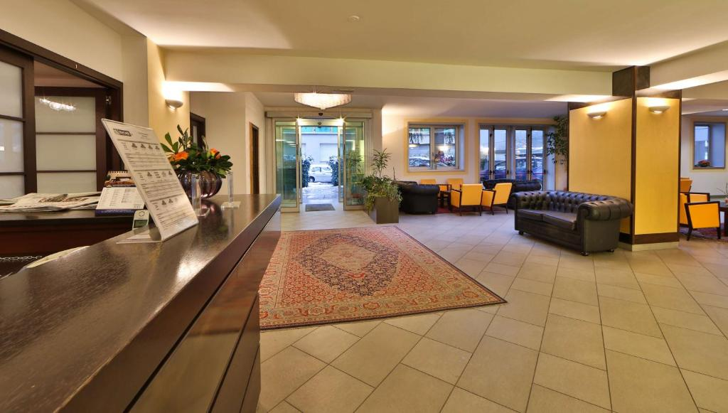 Modern and spacious lounge designed with italian taste.