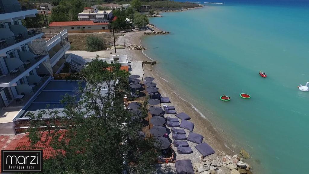 Άποψη από ψηλά του Marzi Boutiqoue Hotel