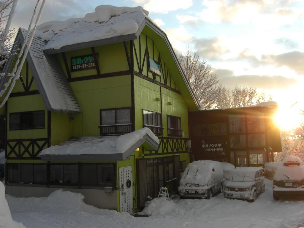 Soratobu Usagi during the winter