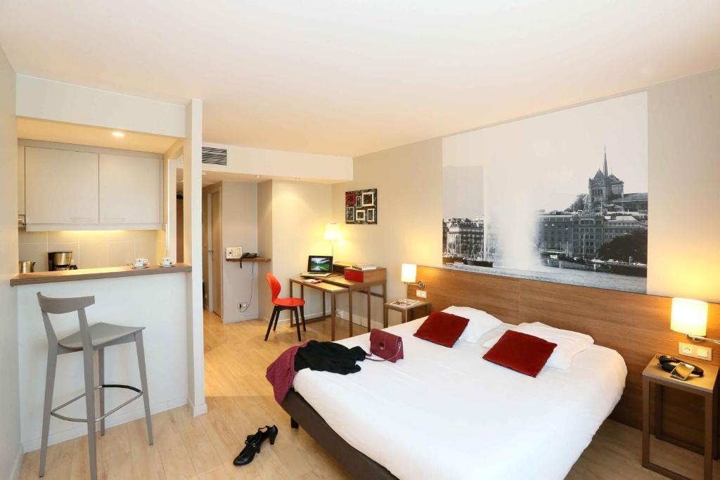 Aparthotel Adagio Genève Saint Genis Pouilly - Laterooms