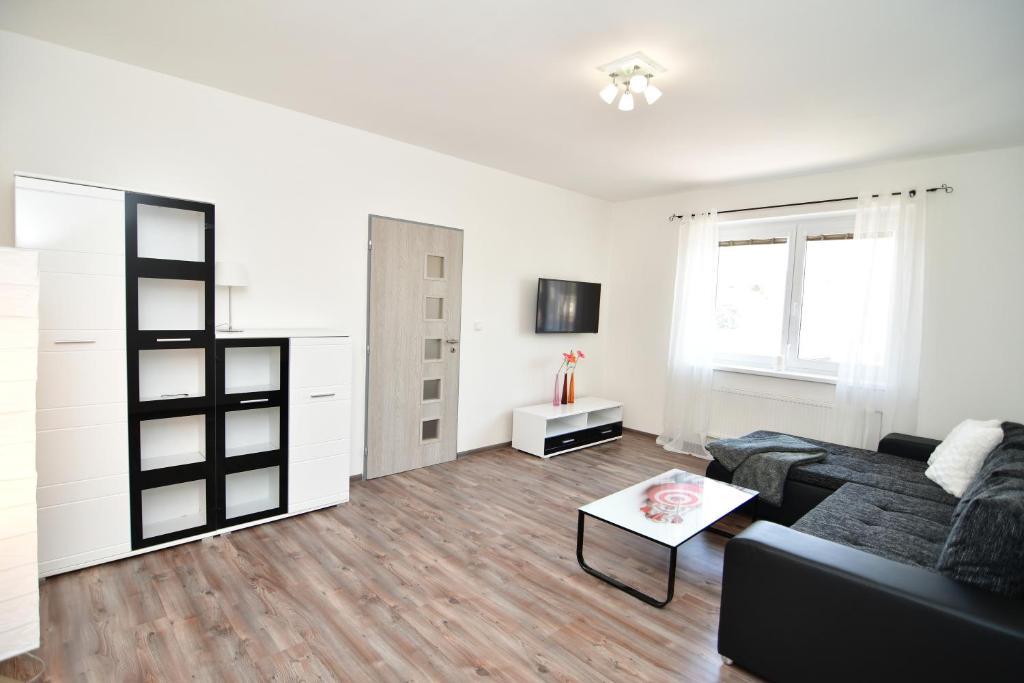 Posezení v ubytování Apartment Pistany