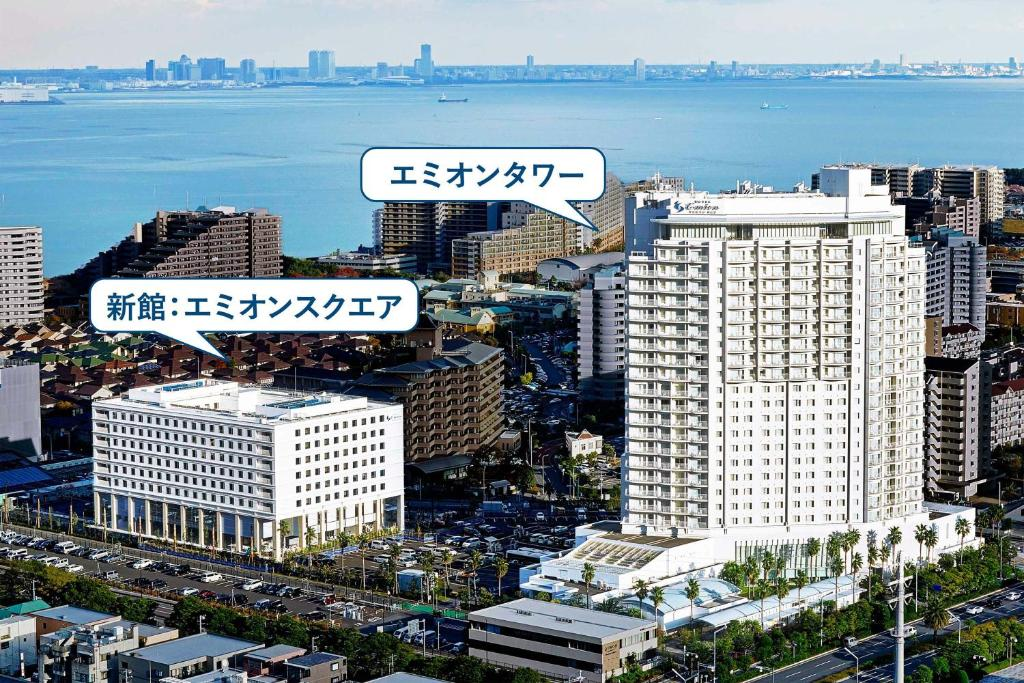 A bird's-eye view of Hotel Emion Tokyo Bay