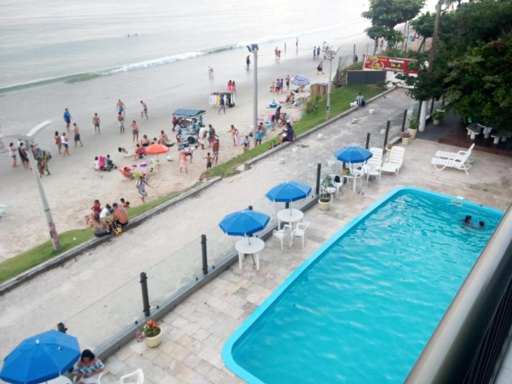Vista de la piscina de Fullfloripa Flats o alrededores