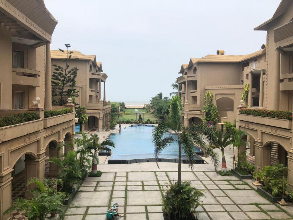 A view of the pool at The Chariot Resort and Spa or nearby