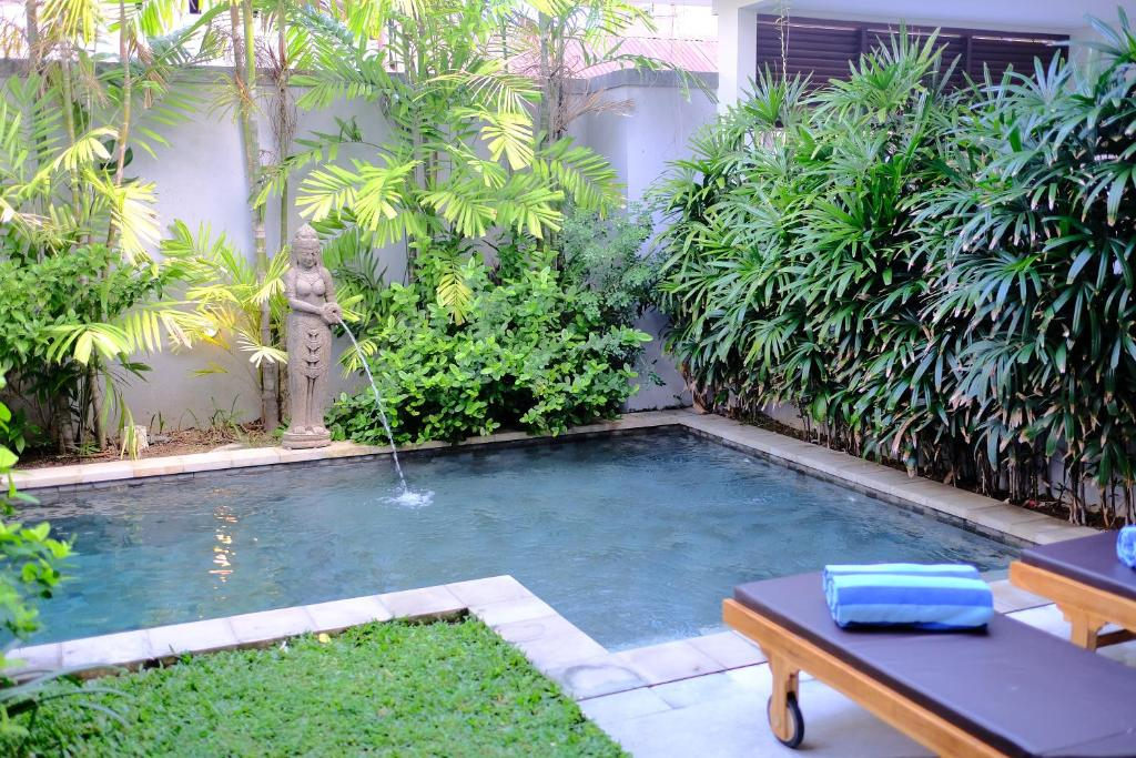 The swimming pool at or near Mudha Bali Villa Sanur 2 Bedrooms