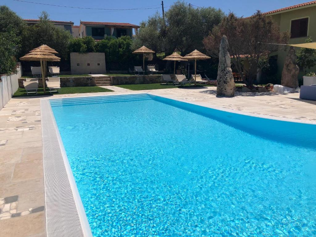 The swimming pool at or near Case Vacanze Budoni Beach