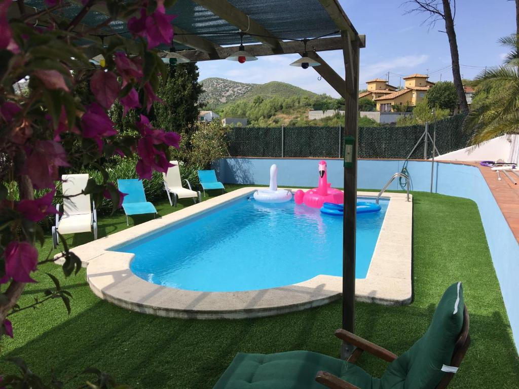 The swimming pool at or close to Sitges Villa Apartment