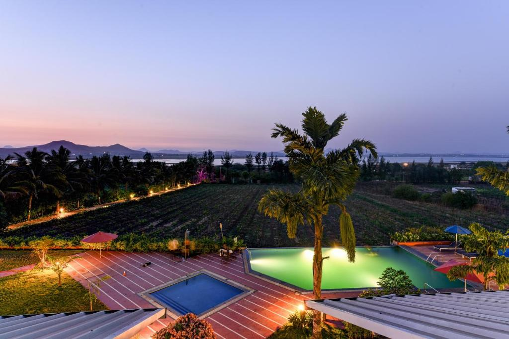 A view of the pool at Regenta Resort Soma Vine Village or nearby