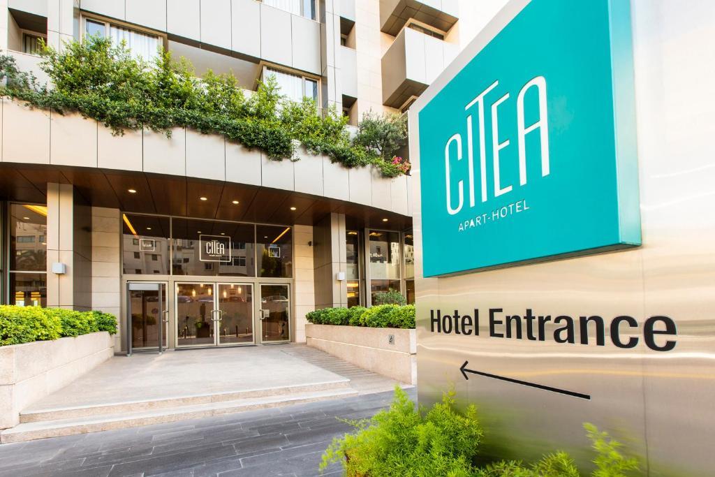 Logo ou pancarte de l'hôtel