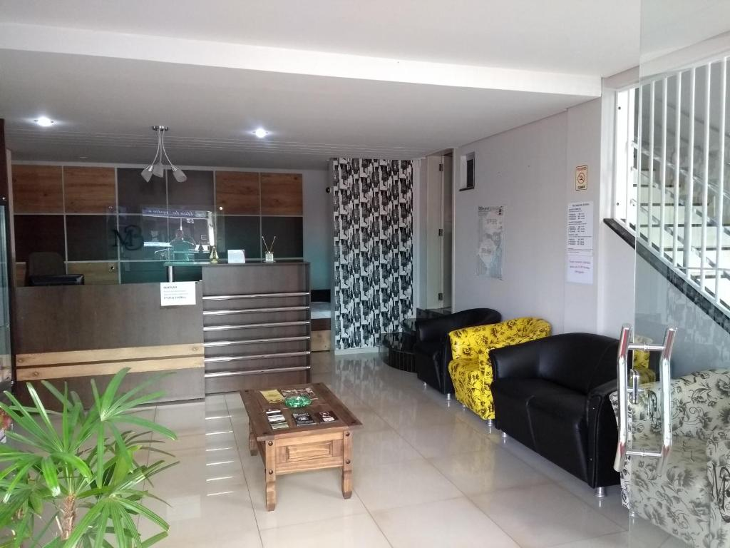 The lobby or reception area at Mb Hotel