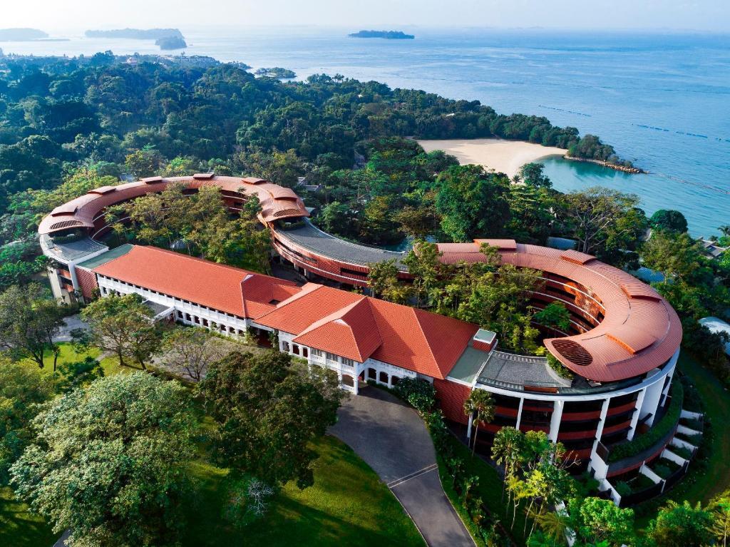 A bird's-eye view of Capella Singapore (SG Clean)