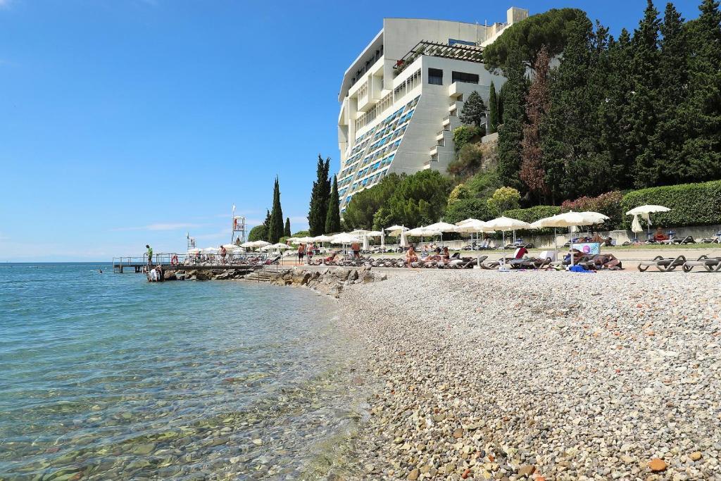 Plaža ob oz. blizu hotela