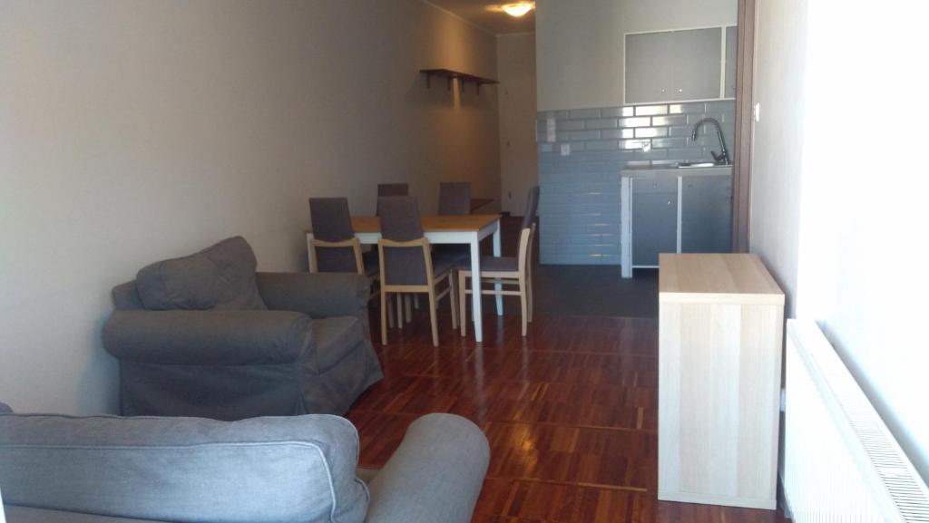 Część wypoczynkowa w obiekcie Mini Lux Apartment
