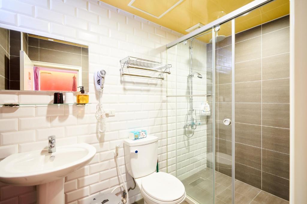 코너 인 욕실