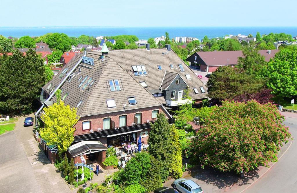 Blick auf Wennhof aus der Vogelperspektive