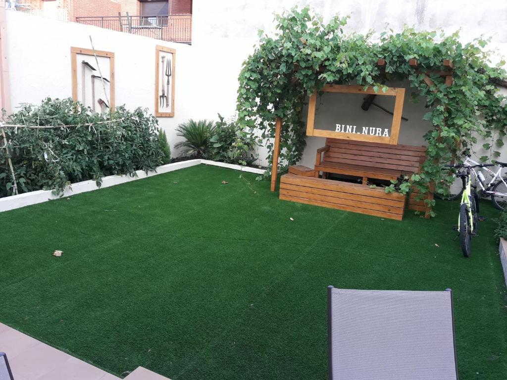Un jardín fuera de BINI - NURA