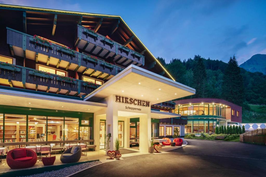 Hirschen Wohlfuhlhotel Schoppernau, Austria