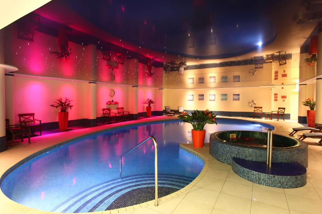 The swimming pool at or near Best Western Heronston Hotel & Spa