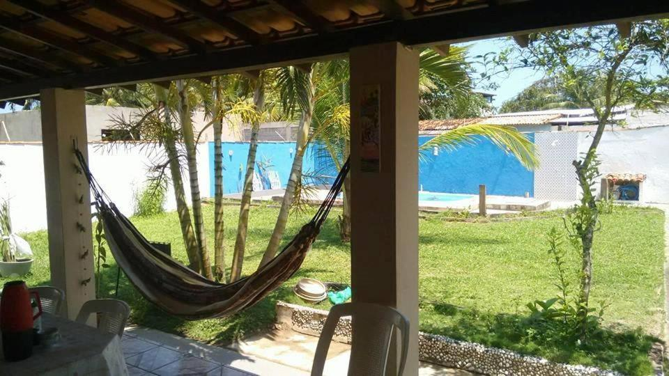 A view of the pool at Recanto Maria Antônia e Hostel. or nearby