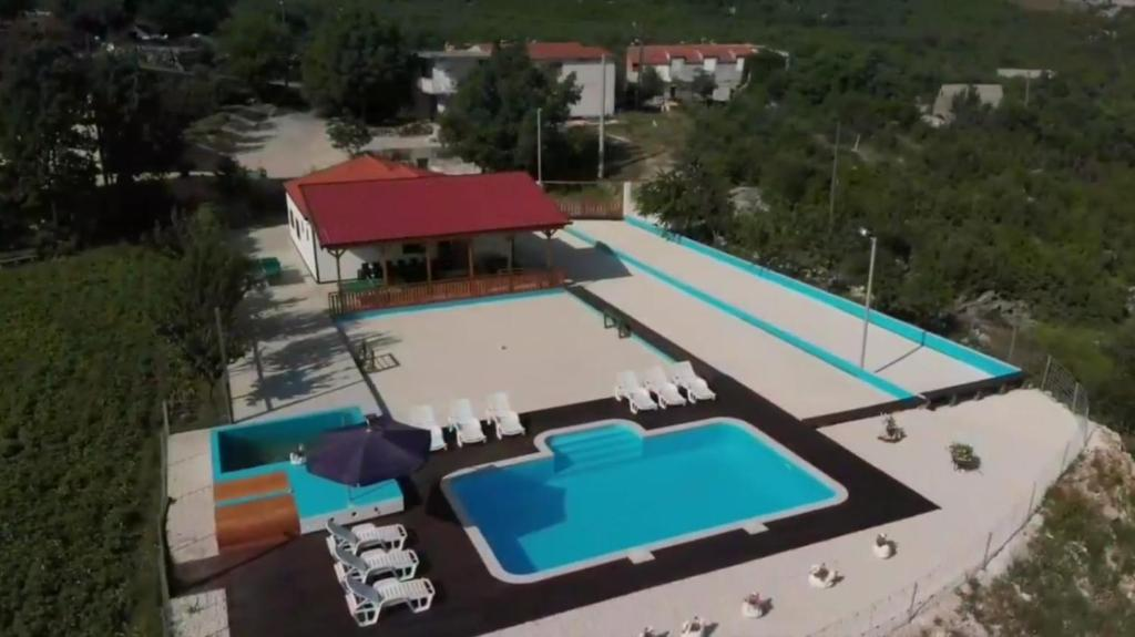 A view of the pool at Holiday Home Poljičko Imanje or nearby
