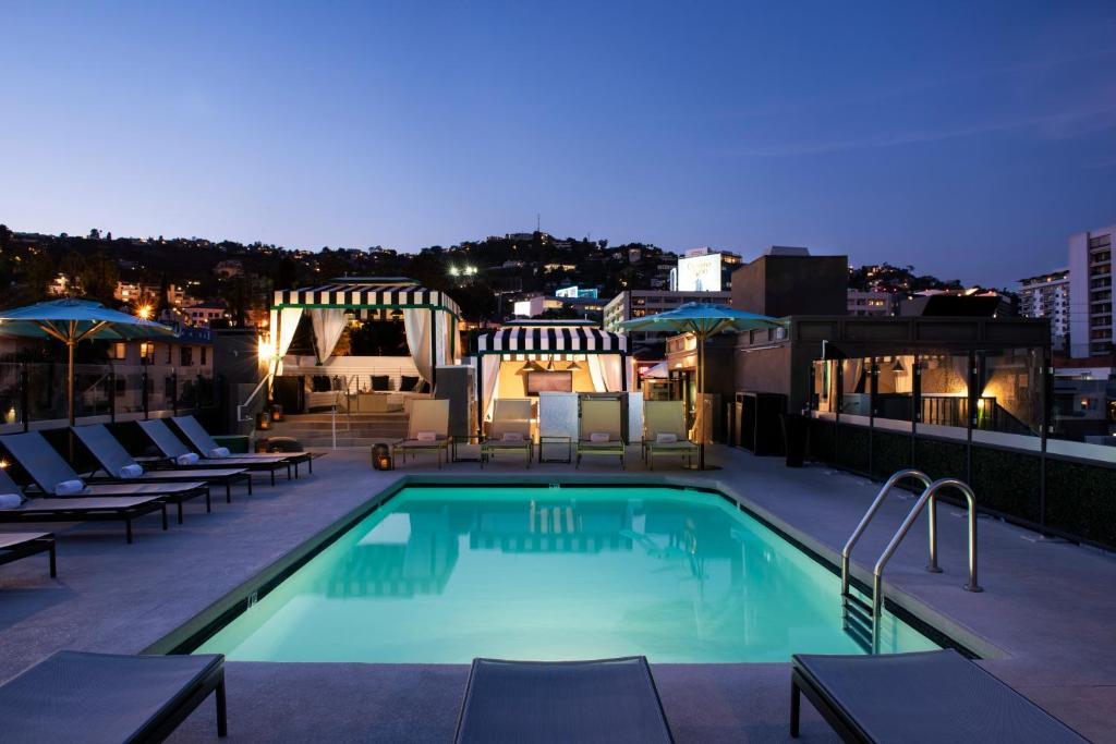 The swimming pool at or near Chamberlain West Hollywood