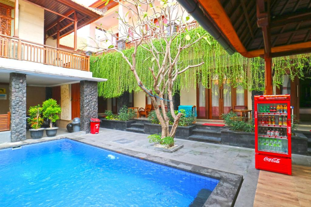 The swimming pool at or close to D'Astri Guest House