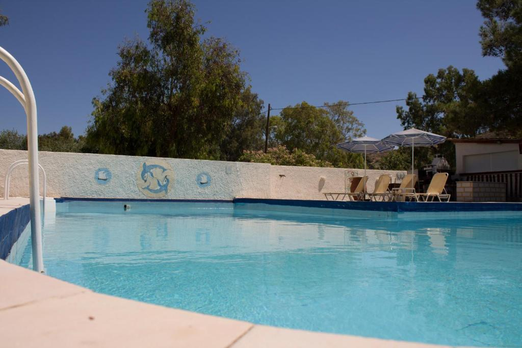 The swimming pool at or near Esperides Hotel