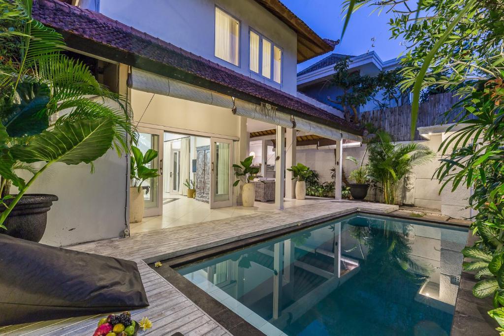 White villa Bali