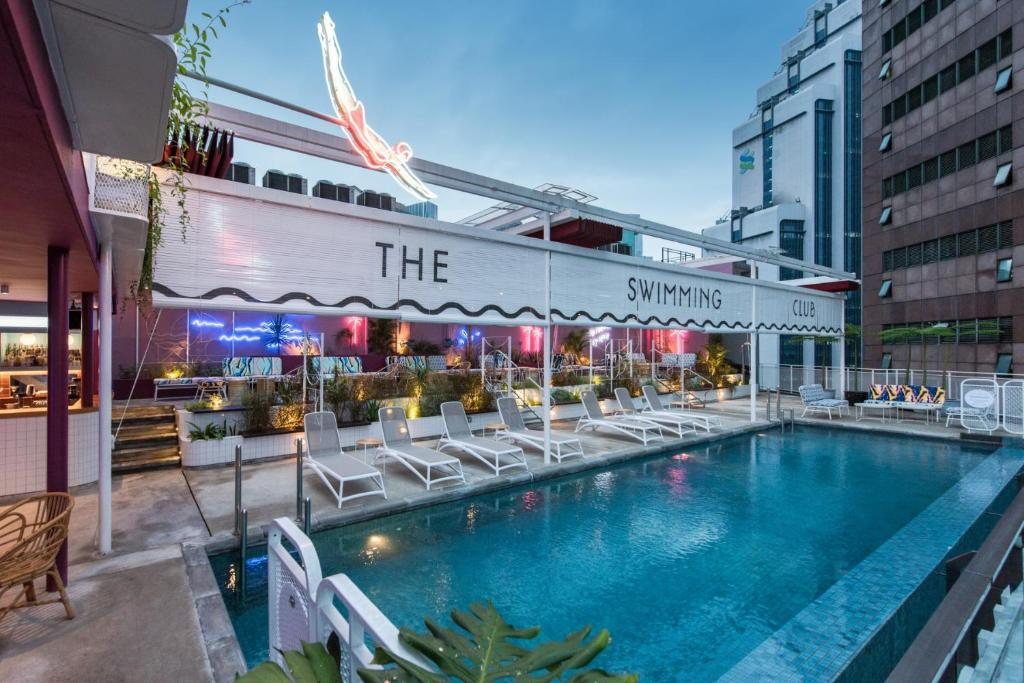 The swimming pool at or close to The Kuala Lumpur Journal Hotel