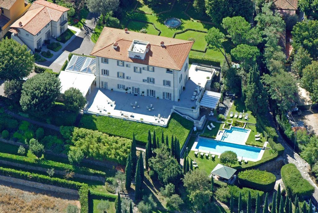 A bird's-eye view of Villa La Vedetta