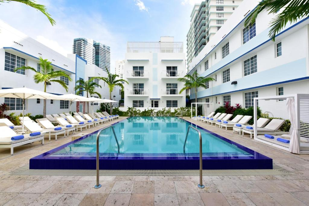 The swimming pool at or near Pestana South Beach Hotel