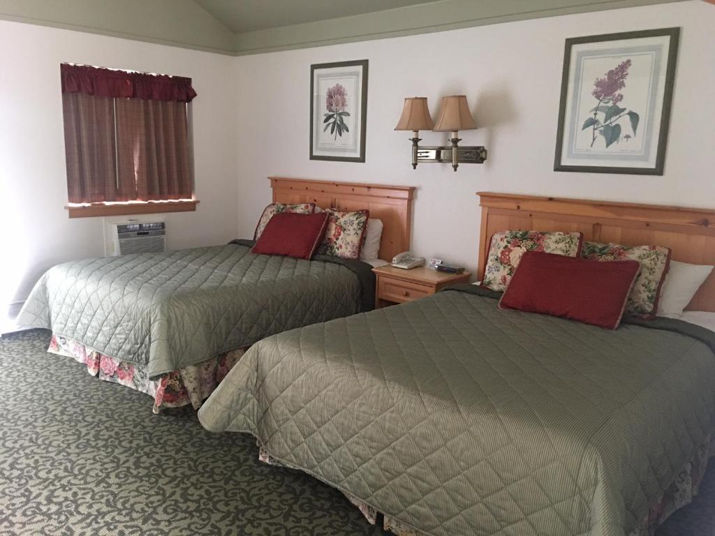 Un ou plusieurs lits dans un hébergement de l'établissement River's Edge Resort