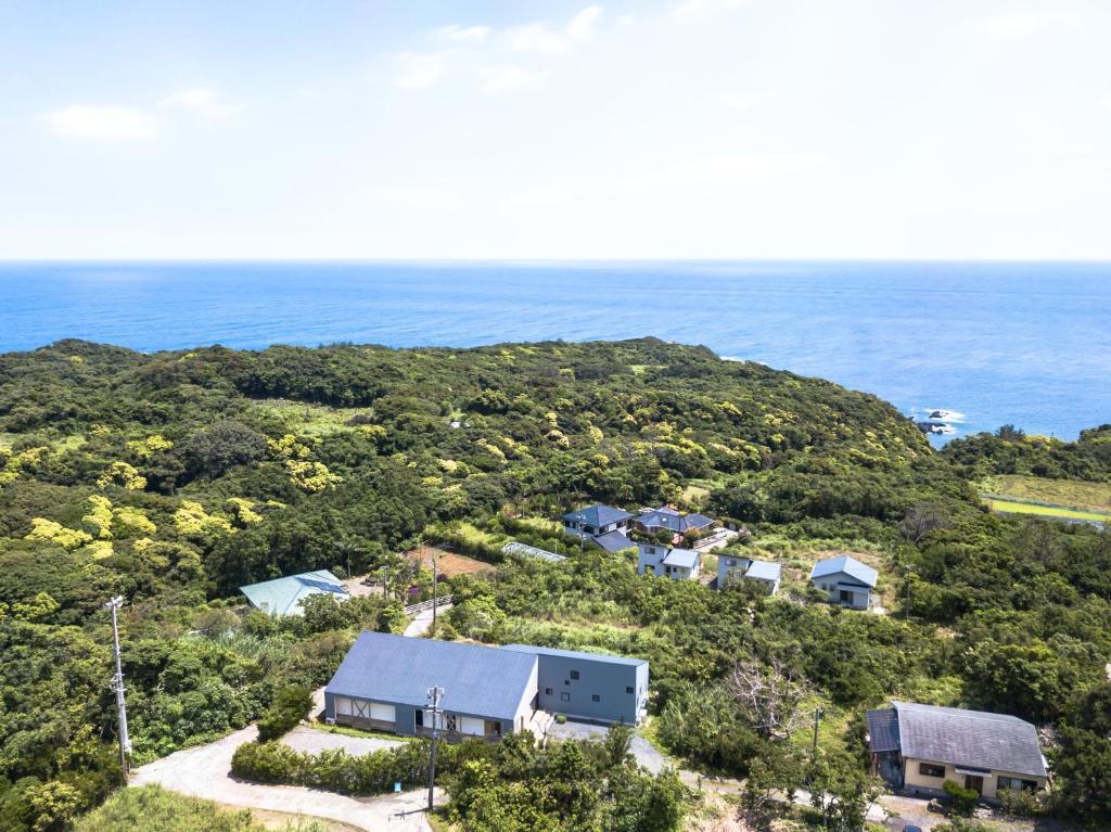 A bird's-eye view of Ananda Chillage Yakushima