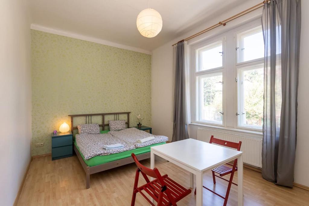 Letto o letti in una camera di Prague B&B - Close to Center
