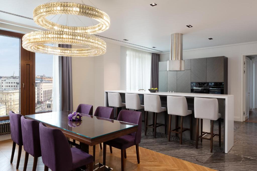 An apartment at the Residences Moscow.